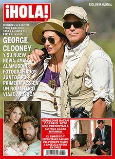 EXCLUSIVA MUNDIAL: George Clooney y su nueva novia, Amal Alamuddin, fotografiados juntos por primera vez, en romántico viaje a África
