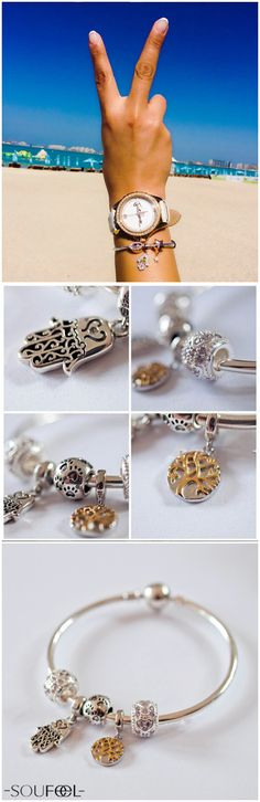 Here is your best companion on the journey, Soufeel charming charms bracelets.