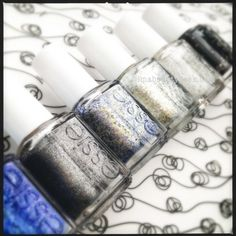Essie Encrusted Treasures Collection_Holiday 2013..on my to do list.
