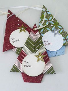 michelles card classes - Tree  tags using folds and DSP