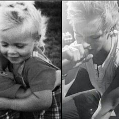 ❤  #rosslynch #young #old #photo #beautiful #emotional #time #passes #growingup