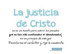 La justicia de Cristo