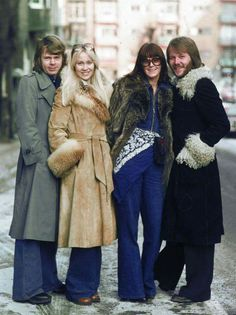 ABBA Warm Outfits, Cute Outfits, Eurovision Songs, Popular Music, Kinds Of Music, Greatest Hits, King Queen, Pop Music, Pop Group
