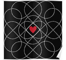 Infinity Love Pattern Poster