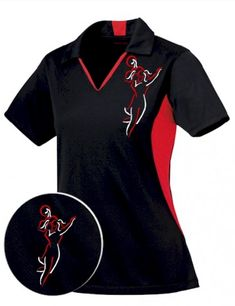 """Not just a sharp look— this sexy bowling shirt is """"cool to wear"""" with performance technology & snag resistant, too!"""