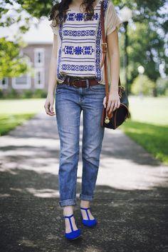 Blau + Braun + Jeans