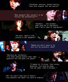 """"""" Ronald Bilius Weasley (favorite movie quotes). """""""