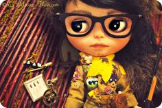 Sam Shakusky | Moonrise Kingdom Custom Blthe Art Doll by My Delicious Bliss. On Exhibition at the Junie Moon Gallery in Tokyo, Japan.