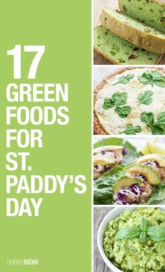Low-cal foods for St. Patrick's day!