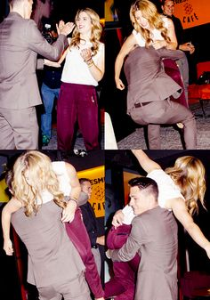 Emily Bett Rickards and Colton Haynes #emton ♥