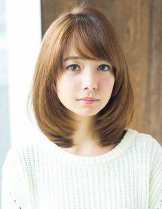 hairstyles for thin hair long Medium Hair Cuts, Long Hair Cuts, Medium Hair Styles, Long Hair Styles, Haircuts Straight Hair, Hair Cutting Techniques, Japanese Hairstyle, Japanese Haircut, Asian Short Hair