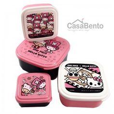 Hello Kitty & One Piece 4-in1 Bento Box