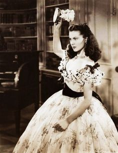 Gone With the Wind. I love Scarlett! She so reminds me of myself. Never give up, find a way to make a problem work kinda girl.