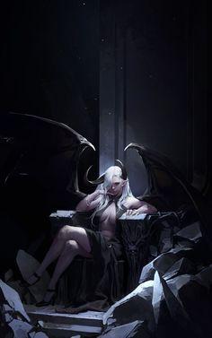 ArtStation - Succubus Queen, dongho Kang