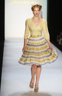 Lena Hoschek: Mercedes-Benz Fashion Week Berlin S/S 2010 - Pictures - Zimbio