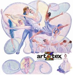 Ballet is a beautiful collage of color and movement intertwined with ribbon. The multi-cultural Ballet wall murals are for all people who dream and dance. Realistically painted in soft, dreamy colors, Ballet will set a wonderful sophisticated dance theme for a child's room that they won't quickly outgrow or for a dance studio. Dance Themes, Wall Murals, Wall Art, Beautiful Collage, Dance Studio, Kids Room, Ballet, Child's Room, Children