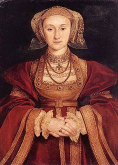 Anne of Cleves, bn. 1515 to the Duke of Cleves, a protestant area of Germany.  She married Henry VIII in 1540 and it was annulled six months later.  She was treated as a sister by Henry thereafter and she played an active role in the lives of his children.  She died after living out her life in England in 1557.
