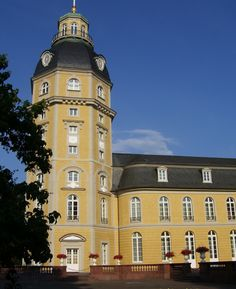 Il castello di Karlsruhe - Schloss Karlsruhe