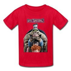 Kid's Geek Hotel Transylvania 2 T-shirts By Mjensen