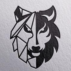 Logo Design Inspiration Discover Awesome and Creative Branding Design Ideas by Goran Jugovic Awesome and Creative Branding Design Ideas by Goran Jugovic Art Drawings Sketches, Tattoo Drawings, Grafiti, Wolf Tattoos, Animal Logo, Logo Design Inspiration, Design Ideas, Art Logo, Branding Design