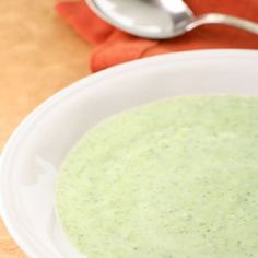 Broccoli, Cannellini Bean & Cheddar Soup  20 min, simple White beans pureed into this broccoli soup make it extra creamy so you don't need heaps of cheese to do the job. Serve with a crunchy whole-grain roll and a glass of winter ale.