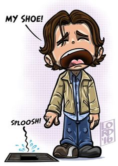 That scene was definitely one of my fav scenes..He felt so helpless but it was funny #Supernatural