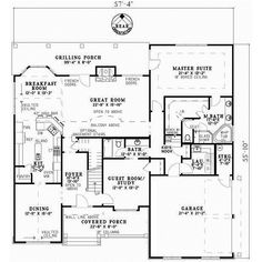 images about house plans on Pinterest   Cottage Style House    Cottage Style House Plans   Square Foot Home   Story  Bedroom and
