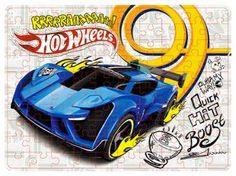 Quebra-Cabeça Hot Wheels - Carro Clássico - 100 Peças - Mattel