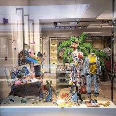 """DOLCE&GABBANA KIDS, Mall of the Emirates, Dubai, United Arab Emirates, """"Listen Brenda... Ahoy, Thank Yee Me Hearty Fer Coming To Mee Party"""", photo by Stephane Mathieu, pinned by Ton van der Veer"""