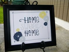 Home Sweet Home Printable - Home Decor