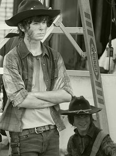 Chandler Riggs is too adorable.