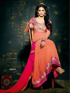 #Designer Salwar Kameez#Peach #Indian Wear#Desi Fashion #Natasha Couture#Indian Ethnic Wear#Indian Suit# Casual suits#Summer Collection #Anarkali #Wedding Collection