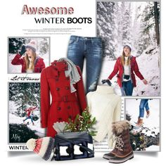 how to wear snow boots with jeans 8