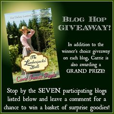 Cover Reveal + Blog Hop Giveaway: THE LUMBERJACKS' BALL by Carrie Fancett Pagels