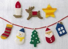 「端午の節句  ハンドメイド」の画像検索結果 Felt Christmas, Xmas, Christmas Ornaments, Felt Fabric, Needle Felting, Fabric Crafts, Diy And Crafts, Embroidery, Holiday Decor