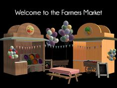 TS2 | Welcome to the Farmers' Market #yandereplum