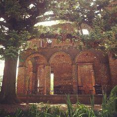 Take pictures at The Ruins at Barnsley Gardens Resort in Adairsville, GA