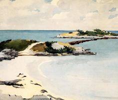 Isla de Gallow, Bermudas - Winslow Homer | Ownapainting.com
