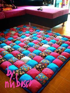 ผ้ารองนอนโทนบานเย็น-ฟ้า