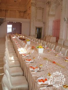 Allestimento matrimonio arancione #orangewedding