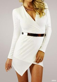 For sale: Asymmetric wrap dress for $29. Free shipping worldwide!