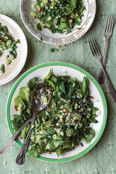 Cooked and Raw Winter Salad - make without edamame for Greenhealth.