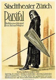 Ernst Georg Ruegg (1883-1948) – Parsifal (1913)