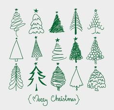 Trendy Christmas Tree Drawing Art Xmas Cards Ideas The Effective Pictures We Offer You About Tree Drawing sketches A quality picture ca Christmas Tree Sketch, Christmas Doodles, Christmas Drawing, Christmas Tree Themes, Christmas Design, Kids Christmas, Christmas Crafts, Watercolor Christmas, Xmas Trees