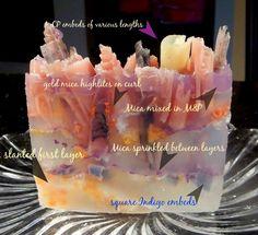 MP soap tutorial found on www.lisamelligillespie.com