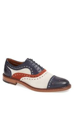 J&M 1850 'McGavock' Cap Toe Oxford (Online Only) available at #Nordstrom