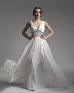 goddess wedding dresses