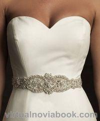Cinturón de pedrería :: Virtual Novia Book Wedding Belts, Wedding Sash, Wedding Dresses, Wedding Accessories, Party Ideas, Women, Decor, Fashion, Models