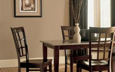 Paint Colors For Walls | Brown paint color: get it right and it can look warm, homey, even ...