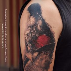 300 Spartan Tattoo Designs and Ideas on Arm